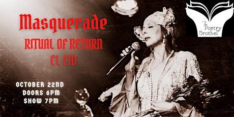 LA Poetry Brothel Masquerade: Ritual of Return tickets