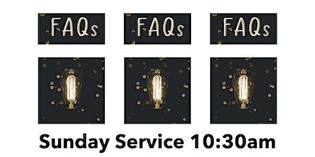 Sunday 26th September : FAQ3 tickets