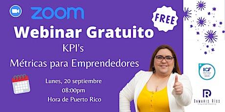 KPI's para Emprendedores tickets