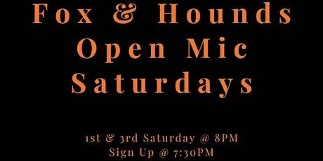 Fox & Hounds Open Mic Night tickets