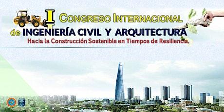 I Congreso Internacional de Ingenieria Civil y Arquitectura - ICCEA 2021 entradas