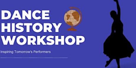 Dance History Workshop tickets