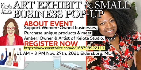 Art Exhibit and Small Business Pop-Up tickets
