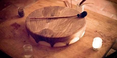 Stage montage tambour rituel billets