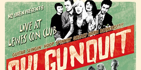 Oh! Gunquit - Thee Dagger Debs - The Atom Jacks @ Lewes Con CLub tickets