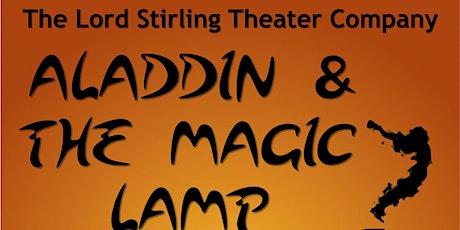 Aladdin and the Magic Lamp tickets