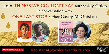 BLB Virtual Event: Things We Couldn't Say Launch Party with Jay Coles tickets