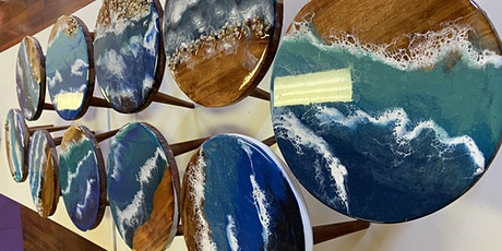 Resin workshop for beginners (TEA TREE GULLY) 18 and over tickets