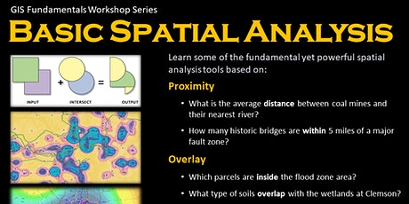 Basic Spatial Analysis - Fall 2021 tickets
