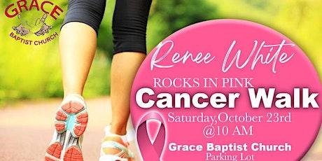 Grace Baptist Church Cancer Walk 2021 tickets