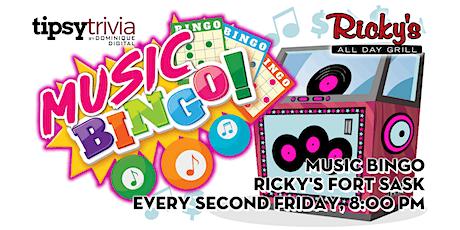Music Bingo - Sept 17th, 7:00pm - Ricky's Fort Saskatchewan tickets