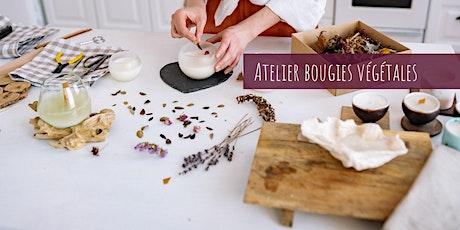 Atelier Bougies végétales billets
