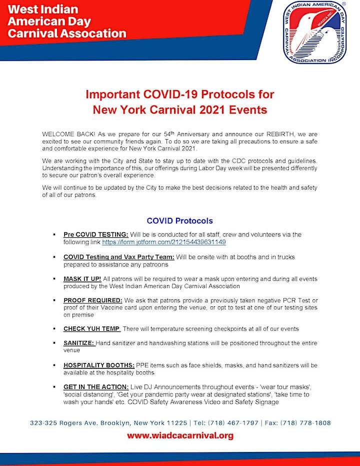 Steel Pan Jamboree! New York City Carnival 2021 image