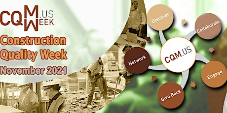 Construction Quality Week 2021 tickets