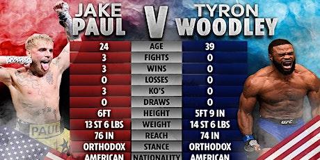 ONLINE@!. Jake Paul v Tyron Woodley Fight LIVE ON fReE 2021 tickets