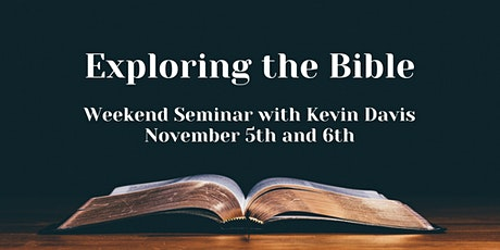 Exploring the Bible tickets