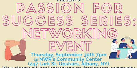Passion For Success Series: Networking Event tickets