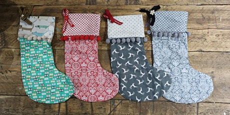 How to Sew Your Own Christmas Stocking - Online Workshop! tickets