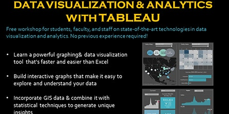 Data Visualization & Analytics with Tableau biglietti