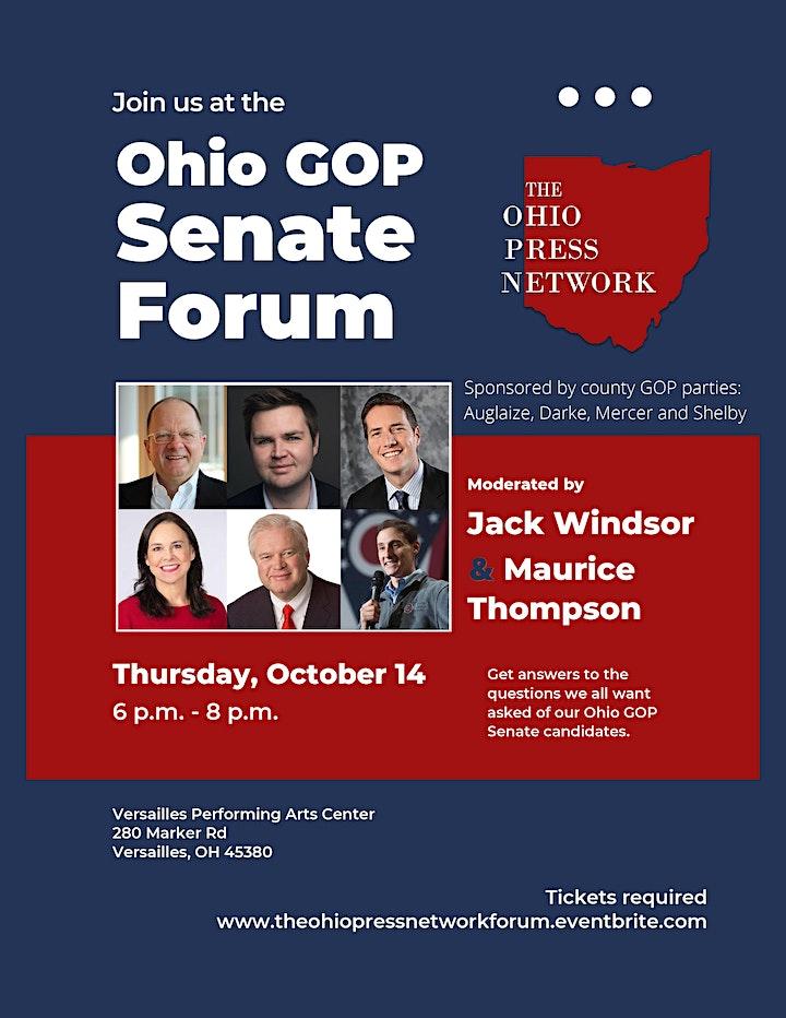 Ohio GOP Senate Forum image