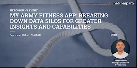My Army Fitness App: Breaking down data silos tickets
