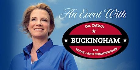 Senator Dawn Buckingham Reception in Dallas tickets
