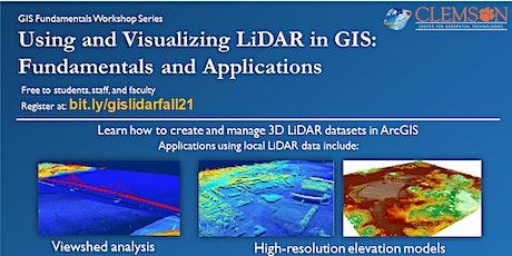3D LiDAR Applications in GIS - Fall 2021 tickets