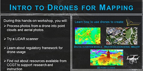 Introduction to Drones for Geospatial Applications tickets