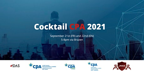 Cocktail de Recrutement CPA - Automne 2021 HEC Montréal billets
