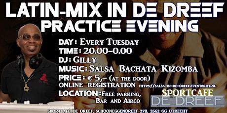 Latin mix  in de Dreef met DJ Gilly tickets