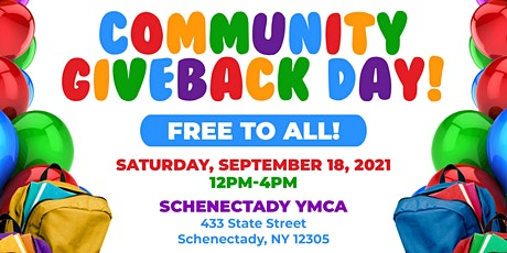Community Giveback Day in Schenectady, NY tickets