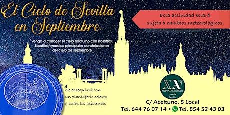 El cielo de Sevilla en septiembre entradas