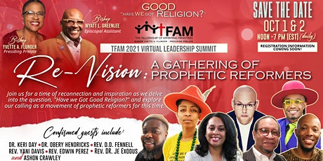 Re-Vision: A Gathering of Prophetic Reformers tickets