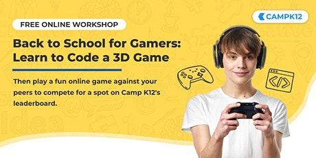 Title - Back to School for Young Gamers: Code Your Own Online Game Tickets