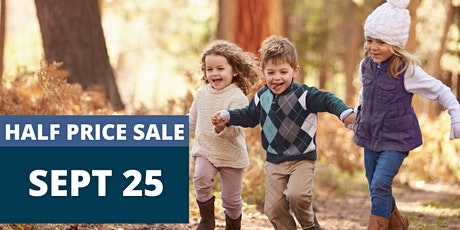 Saturday Half Price Sale Shopping Pass - JBF Greater Pittsburgh Fall 2021 tickets