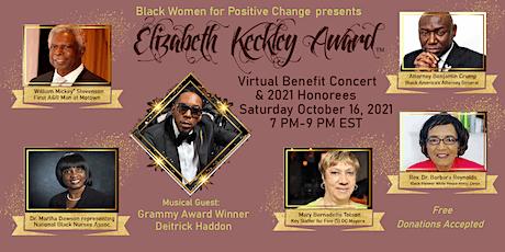 The Elizabeth Keckley Awards & Concert tickets