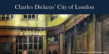 Walking Tour - Charles Dickens and the City of London tickets