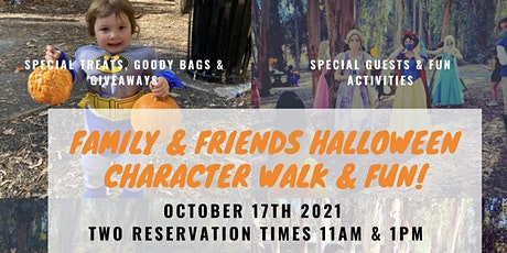 Family & Friends Character Walk tickets
