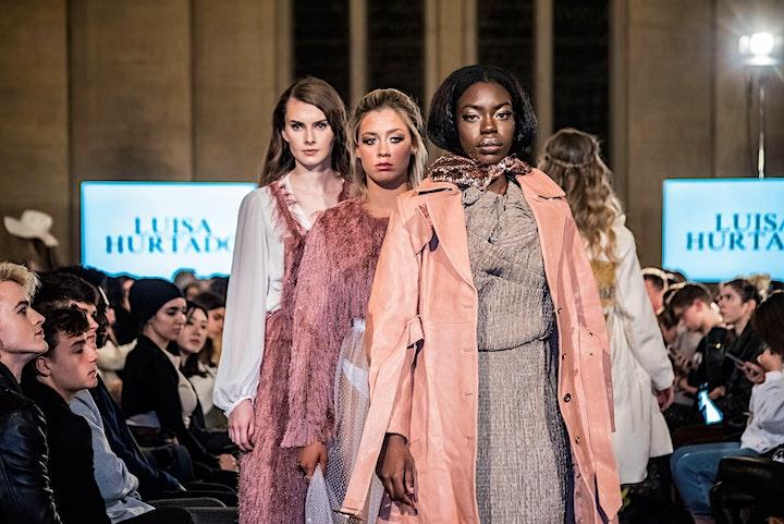 Fashion Show Live during London Fashion Week  SS22 image