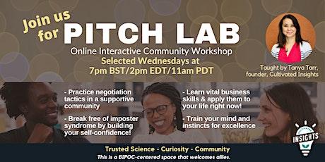 Pitch Lab: Interactive Negotiation Lab tickets