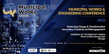 28th National Municipal Works and Engineering Conference tickets
