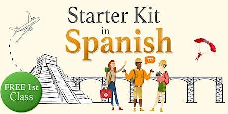Starter Kit - Spanish 1st FREE Class tickets