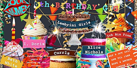 LOUD WOMEN's 6th Birthday Party tickets