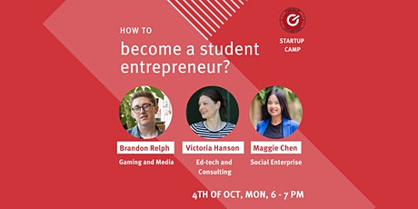 CityVentures - How to become a student entrepreneur tickets