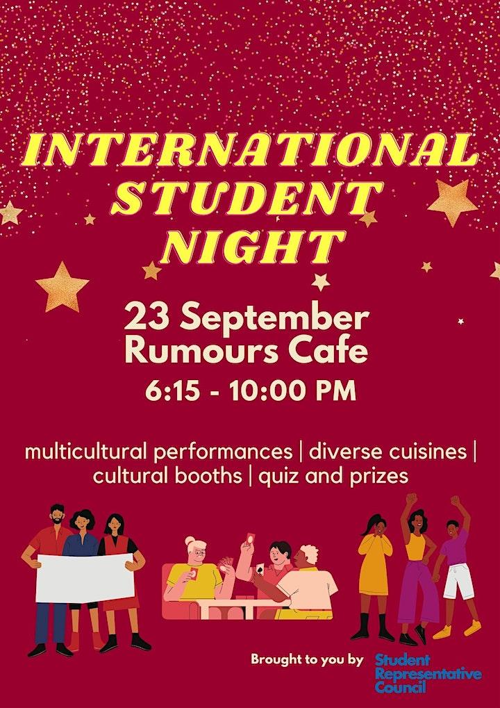 International Student Night 2021 image