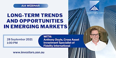 Long-Term Trends and Opportunites in Emerging Markets tickets