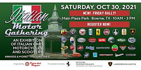 Italian Motor Gathering tickets