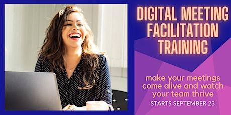 Digital Meeting Facilitation - Training Series tickets