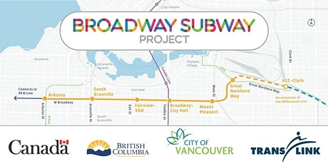 CSCE Web Presentation: Broadway Subway Project - Vancouver tickets