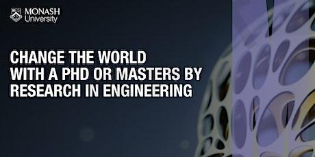 Monash University Engineering Graduate Research Information Session tickets